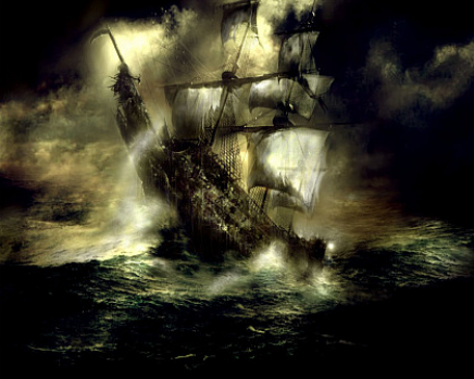 flying dutchman painting unknown artist